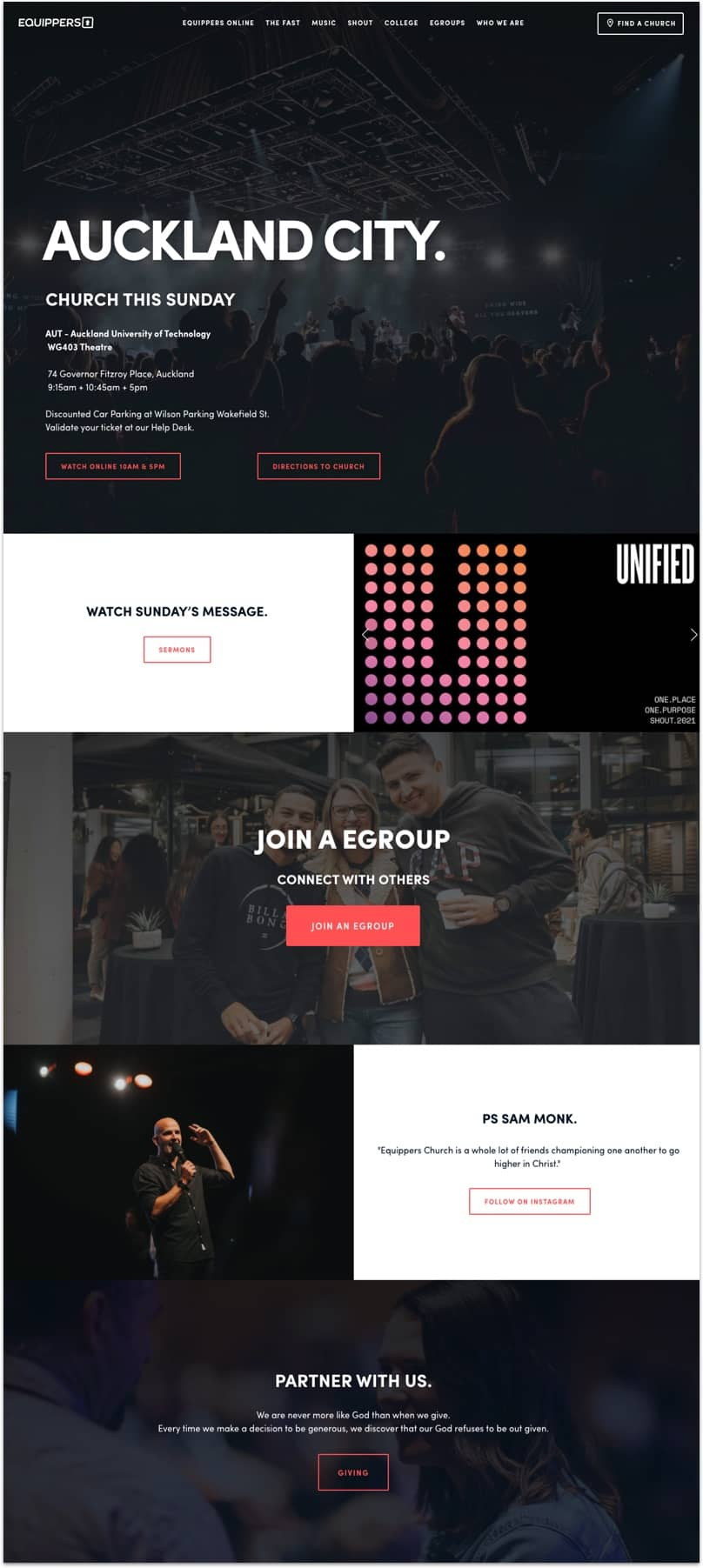 Equippers Church Website