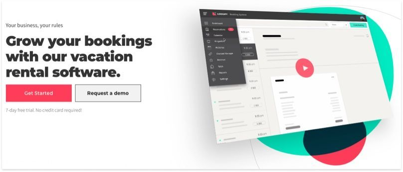 Lodgify Home Page