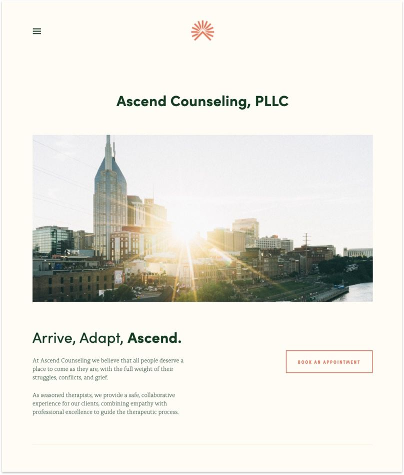 Ascend Counseling Website